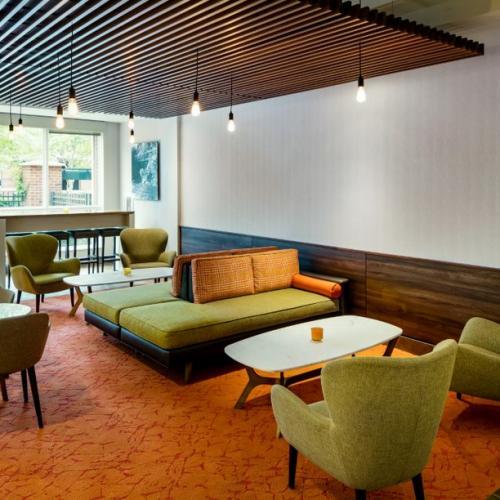 Trailhead Restaurant Social Space